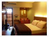 Disewakan Apartemen Tamansari Sudirman, dekat Sampoerna Strategic - Studio Fully Furnished