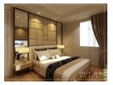 Disewakan Apartemen 1 Park Residence - 2 BR Luxurious Furnished