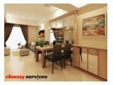 Disewakan New Tower Apartemen Casa Grande Phase II - 2 + 1 Bedrooms Luas 74 SQM Tower Angelo Good Furnished
