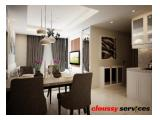Disewakan New Tower Apartemen Casa Grande Residence Phase II 2 Bedrooms Tower Angelo Luas 64 SQM Good Furnished