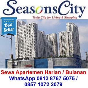 sewa harian apartemen Seasons City
