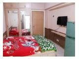 Sewa apartemen Educity Studio Harian/mingguan akses card full furnish