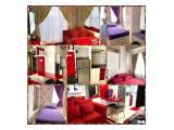 Disewakan Apartemen Serpong Green View Harian, Mingguan, Bulanan Dan Tahunan - Tipe Studio, 1 BR dan 2 BR