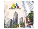 JUAL CEPAT BU Apartemen Serpong M Town