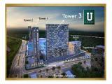 Apartemen Disewakan - U Residence, Karawaci, Tangerang - Tower 3 - Studio Unfurnished