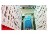 Disewakan Apartemen The Green Pramuka City – Tower Bougenville – 2 BR Unfurnished (2 AC) – Direct Owner