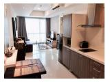 FOR RENT APARTMENT CASA GRANDE RESIDENCE, TOWER MONTANA 1BR 42SQM FULL FURNISHED - RP.9.500.000