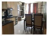 Kitchen, living room, meja makan