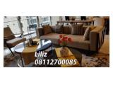 For Rent Apartment Pondok Indah Residences Available All Type 1 / 2 / 3 Bedroom Fully Furnished