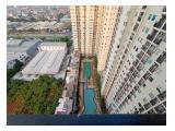 Apartemen murah type 1 kamar tidur disewakan harian bulanan dan tahunan maple park sunter jakarta utara