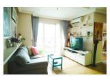 Thamrin Residences apartment, Special 3BR convert ke--> 2BR, hadap timur. Ensuite bathroom, walk-in wardrobe. Lantai asli kayu.