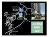 Disewakan Apartemen Bintaro Plaza Residences Tower Breeze