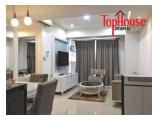For Rent Apartment Casa Grande Residence 2 Bed, Fully Furnished, 15jt/Month, Connecting Mall Kota Kasablanka Jakarta