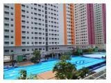 Sewa apartemen harian/mingguan studio dan 2 kamar Green Pramuka city Jakarta pusat