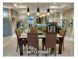 Sewa Apartemen Golfhill Terrace 3+1 Bedroom Lantai Tengah Tower B Fully Furnished