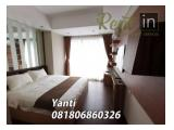 For Rent Apartment Branz Simatupang Ready All Type 2BR / 3BR Fully Furnished