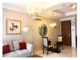 Sewa Apartemen Residence 8 Senopati di Jakarta Selatan – 1 BR (76 sqm) Fully Furnished, Good View
