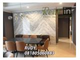 For Rent Apartment Pondok Indah Residence 3 Bedroom Amala Tower High Floor Full Furnished Corner Unit