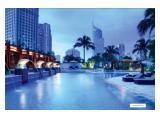 Disewakan apartemen mewah - The Plaza Residences Sudirman - 3 BR fully furnished