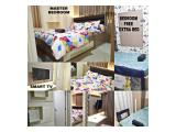 Rent Daily & Weekly Orchard 2BR Pakuwon Mall Cozy Room Full Furnish Interior