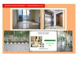 Apartment for rent - Menteng Park – 2 BR Semi Furnished – Private Lift, City View
