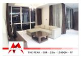 Disewakan Apartemen The Peak Sudirman – 2 BR & 3 BR, Fully Furnished, Well Maintained, Best Price, By Malago Project