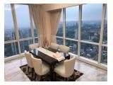 Sewa dan Jual Apartemen The Peak Sudirman – 2 BR / 2+1 / 3 / 3+1 BR Fully Furnished