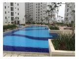 Disewakan apartemen Bassura City 2Br Fasilitas Plus Water Heater,3 Unit AC, Listrik 2.200 Watt Jarang ada stok terbatas