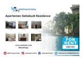 Disewakan Apartemen Setiabudi Residence Hot Unit, 3 BR, Harga Lebih Murah, Luas 147m2 by ASIK PROPERTY