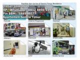 Sewa Harian, Transit & Mingguan Apartemen Sentra Timur Residence Unit Fullfurnished Nyaman