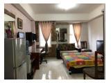 Sewa Apartemen Silkwood Residence Alam Sutera - Studio Full Furnished, Dekat Binus