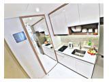 Sewa Apartemen Taman Anggrek Residences - 2BR Furnished 50m2 Lantai 3 ada Taman Khusus