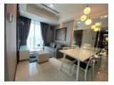 Disewakan Apartemen Casa Grande Residence ( Mall Kota Kasablanka) – Tower Montreal 2+1BR 76Sqm Full Furnished