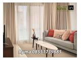For Rent Apartment Branz Simatupang 2 Bedrooms Brand New Fully Furnished North Tower Middle Floor
