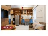 Disewakan Apartemen Roseville  Soho & Suite BSD -  1BR Eksklusif Baru Murah Fully Furnish Electronic