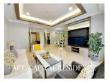 Disewakan Apartemen The Capital Residence, SCBD Jakarta Selatan – 3 BR, Size 170m2 - Luxurious adn Fully Furnished, Newly Renovated - Siap Huni