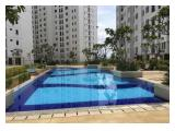 Stock ALL TOWER unit Bassura City 2BR unfurnished 34sqm dipasang 2AC