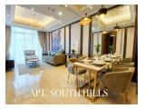 Disewakan Apartemen South Hills Kuningan, Jakarta Selatan – 1 BR Size 68m2 Fully Furnished Siap Huni - Nego until Done by Marketing In House