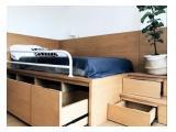 Apartment Fully Furnished Disewakan - Casa De Parco BSD, studio room