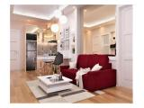 Sewa Apartemen mewah Podomoro Golf View Bogor -3 Bedroom (hook) 52m2 Full Furnished
