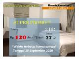 Disewakan Thamrin Executive Residence 2 BR Jakarta Pusat