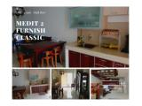 Disewakan Tahunan 2 Bedroom Full Furnished Apartemen Mediterania Garden 2