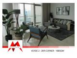 Disewakan Apartemen Verde Two Residence / Verde 2 – 3 BR, Lovely and Spacious, Brand New unit, Pet Friendly by Malago Project