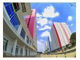 Dijual / Disewakan MURAH Apartemen Green Pramuka City Harian, Bulanan, Tahunan - 2 Kamar dan Studio - Jakarta Pusat