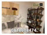 For Rent Apartment Pondok Indah Residence Ready All Type 1 / 2 / 3 Fully Furnished Ready To Move In