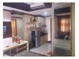 sewa apartemen studio 30 m2 full furnished oasis cikarang