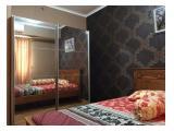 Type 1 kamar tidur furnished disewakan tahunan apartemen maple park sunter jakarta utara