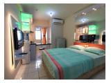 Disewakan Apartment Type Studio untuk Bulanan/Tahunan di Gading Nias Residence