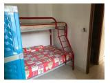 Sewa Harian / Bulanan / Tahunan Apartemen Mediterania Boulevard Kemayoran Jakarta Pusat - 2 BR 48 m2 Furnished