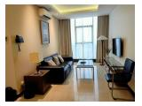 Living Room - Sewa Apartemen L'Avenue Pancoran Jakarta Selatan - 2 BR Full Furnished